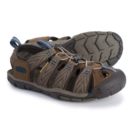 0047087a250b Keen Clearwater CNX Sport Sandals (For Men) in Dark Earth Blue Black -