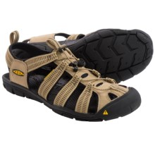 Keen Clearwater CNX Sport Sandals (For Men) in Kelp/Dark Earth - Closeouts
