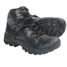 Keen Cleveland Soft Toe Work Boots - Waterproof (For Men) in Night - Closeouts