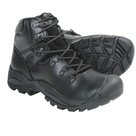 Keen Cleveland Soft Toe Work Boots - Waterproof (For Men) in Night