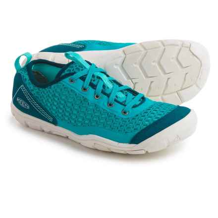 Keen CNX Mercer Lace II Sneakers (For Women) in Algiers/Radiance - Closeouts