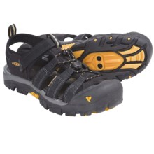 Keen Commuter II Sport Sandals - Clip-On Bike (For Women) in Black/Yellow - Closeouts