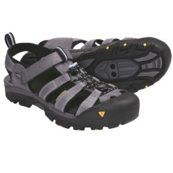 Keen Commuter II Sport Sandals - SPD (For Women) in Black/Yellow