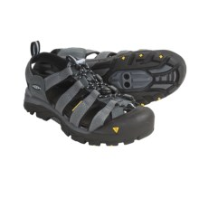 Keen Commuter Sport Sandals - Clip-On Bike (For Women) in Medium Grey/Angel Falls - Closeouts