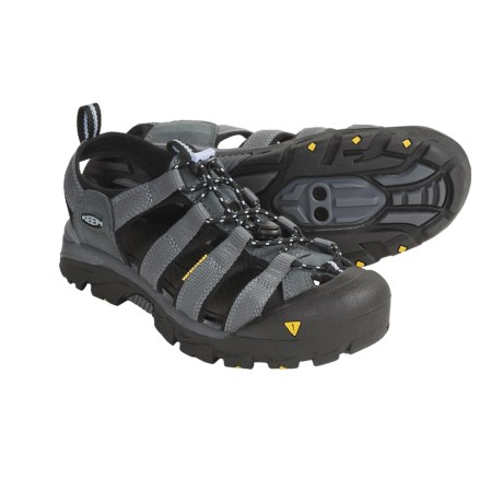 Keen Commuter Sport Sandals - SPD (For Women) in Medium Grey/Angel Falls