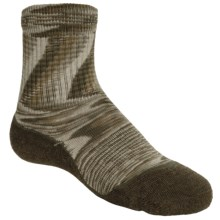 Keen Concord Crew Lite Socks - Merino Wool, Recycled Materials (For Kids) in Giallo/Mink/Loden - Closeouts