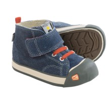 Keen Coronado High-Top Sneakers (For Infants) in Blue/Koi - Closeouts