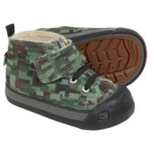 Keen Coronado High-Top Sneakers (For Infants) in Digital Camo/Black - Closeouts