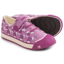 Keen Coronado Print Canvas Sneakers (For Little and Big Kids) in Lilac Chiffon/Hibiscus Flower - Closeouts