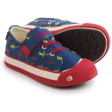 Keen Coronado Print Canvas Sneakers (For Toddlers) in True Blue Lizard - Closeouts
