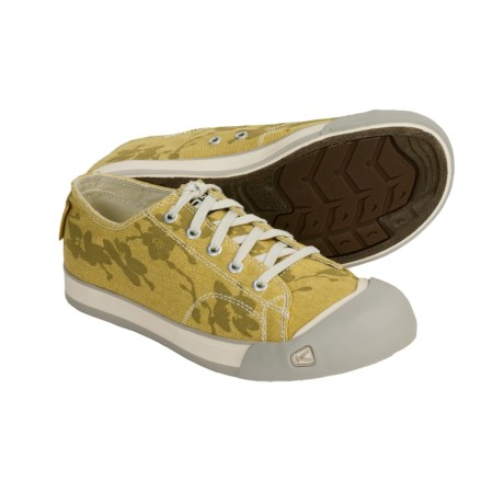 Keen Coronado Print Shoes - Canvas (For Women) in Misted Yellow/Flower Print
