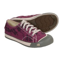Keen Coronado Print Shoes - Canvas (For Women) in Violet Quartz/Flower Print - Closeouts