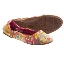 Keen Cortona Bow CVS Flats - Slip-Ons (For Women) in Floral Print - Closeouts