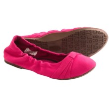 Keen Cortona Bow CVS Flats - Slip-Ons (For Women) in Rose Red - Closeouts