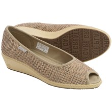 Keen Cortona Wedge Shoes - Jute, Peep Toe (For Women) in Kelp - Closeouts