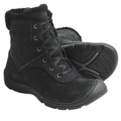 Keen Crested Butte Low Boots - Nubuck (For Women) in Black