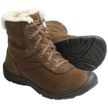 Keen Crested Butte Low Boots - Nubuck (For Women) in Potting Soil - Closeouts