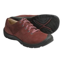 Keen Crested Butte Shoes - Nubuck (For Women) in Madder Brown - Closeouts