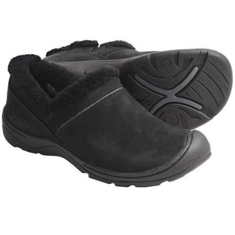 Keen Crested Butte Shoes - Nubuck, Slip-Ons (For Women) in Black