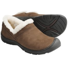 Keen Crested Butte Shoes - Nubuck, Slip-Ons (For Women) in Potting Soil - Closeouts
