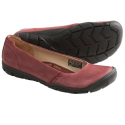 Keen Delancey Ballerina CNX Shoes - Leather (For Women) in Madder Brown