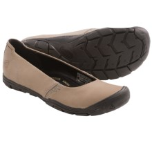 Keen Delancey Ballerina CNX Shoes - Leather (For Women) in Neutral Grey - Closeouts