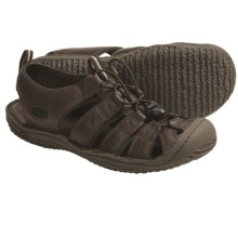 Keen Denver Sandals - Leather (For Men) in Tobacco - Closeouts