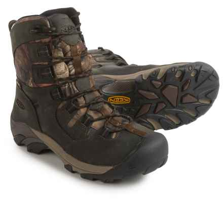 Keen Detroit Work Boots - Waterproof (For Men) in Mo Infinity - Closeouts