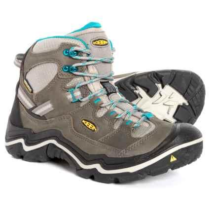 e2700d199e Keen Durand Mid Hiking Boots - Waterproof (For Women) in Gargoyle  Capri/Capri