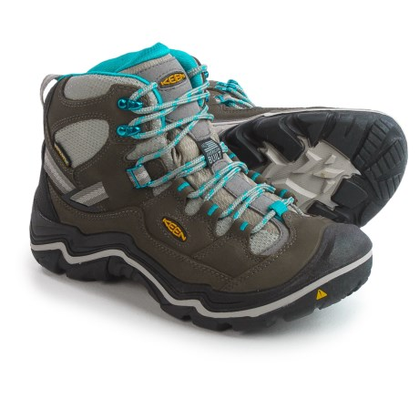 Keen Durand Mid Hiking Boots - Waterproof, Nubuck (For Women)