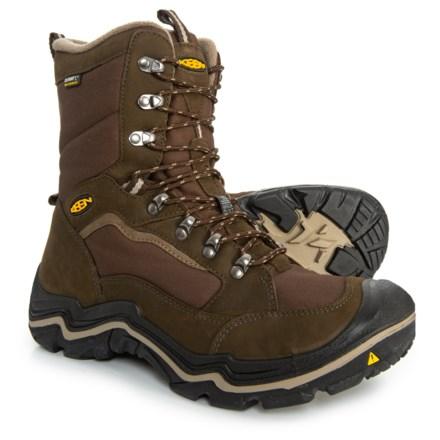b27846e6a99 Keen Durand Polar Winter Boots - Waterproof, Insulated (For Men) in Cascade  Brown
