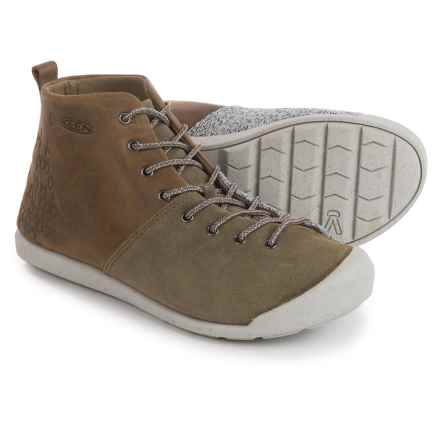 Keen East Side Boots (For Women) in Pale Olive/Gargoyle - Closeouts