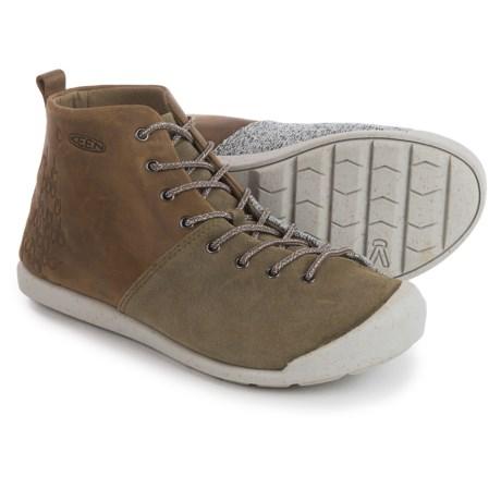 Keen East Side Boots (For Women) in Pale Olive/Gargoyle