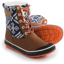 Keen Elsa Duck Boots - Waterproof, Insulated (For Women) in Tortoise Shell - Closeouts
