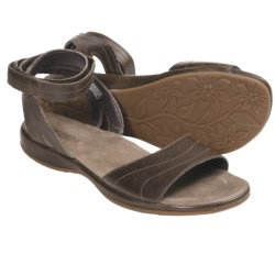 Keen Emerald City Ankle Strap Sandals - Leather (For Women) in Slate Black