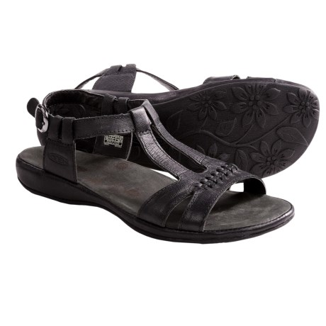 Keen Emerald City Sandals - Leather (For Women) in Black