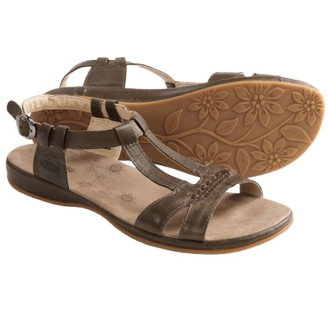 Keen Emerald City Sandals - Leather (For Women) in Slate Black