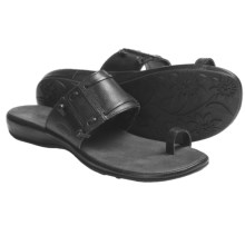 Keen Emerald City Toe-Wrap Sandals - Leather (For Women) in Black - Closeouts
