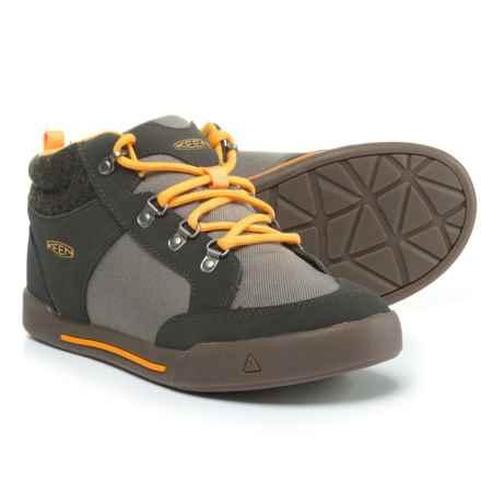 Keen Encanto Wesley II Sneakers (For Boys) in Raven/Steel Grey - Closeouts