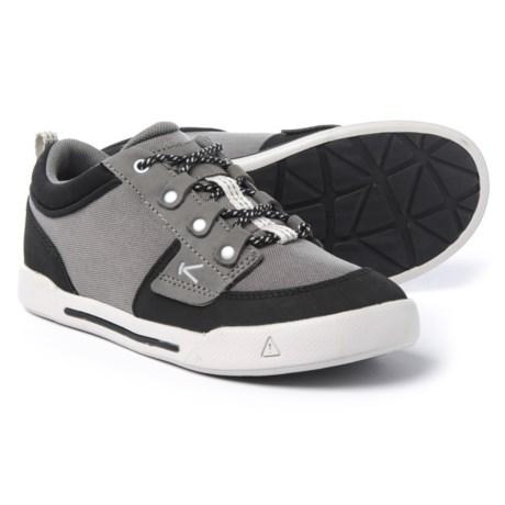 Keen Encanto Wesley Sneakers (For Boys) in Gargoyle/Black