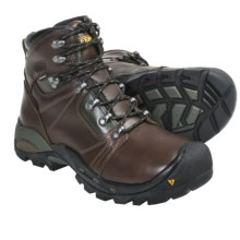 Keen Erickson PCT Hiking Boots - Waterproof, Leather (For Men) in Slate Black/Forest Night - Closeouts