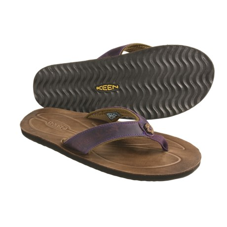 Keen Florence Thong Sandals - Flip-Flops (For Women) in Loganberry