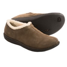 Keen Galena Nubuck Slippers (For Women) in Cascade Brown - Closeouts