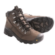 Keen Glarus Mid Hiking Boots - Waterproof, Leather (For Women) in Bison / Slate Black - Closeouts