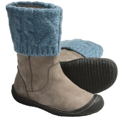 Keen Golden Boots - Nubuck (For Women) in Cement