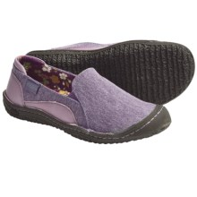 Keen Golden Summer Natural Canvas Shoes - Slip-Ons (For Women) in Purple Sage - Closeouts