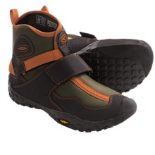 Keen Gorge Water Boots (For Men) in Forest Night/Rust - Closeouts