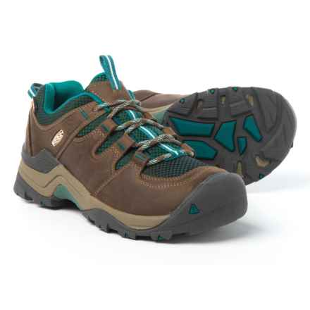 Keen Gypsum II Hiking Shoes - Waterproof (For Women) in Shitake/Everglade - Closeouts