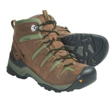 Keen Gypsum Mid Hiking Boots - Waterproof, Nubuck (For Men) in Shitake/Bronze Green - Closeouts