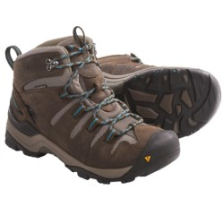 Keen Gypsum Mid Hiking Boots - Waterproof, Nubuck (For Women) in Gargoyle/Eventide
